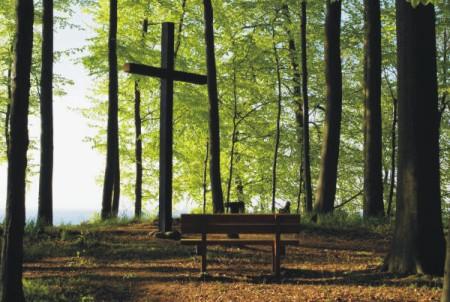 Kreuz in Homepage